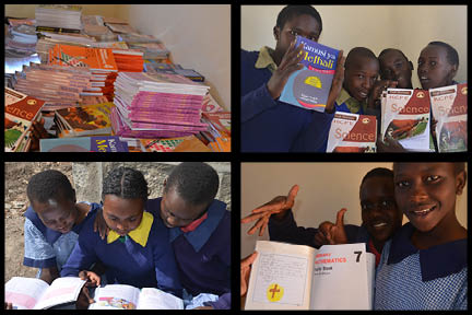Endana Primary is the only public Primary School in Kenya with a 1:1 ratio of text books to students!