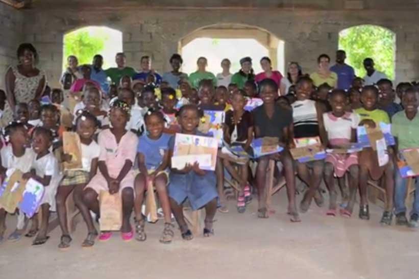 Holiday Children's Camp in Bohoc Haiti!