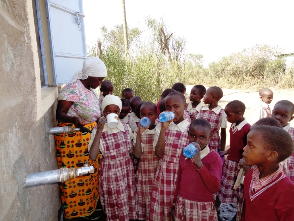 Higher Church & School Attendance Because of Water!