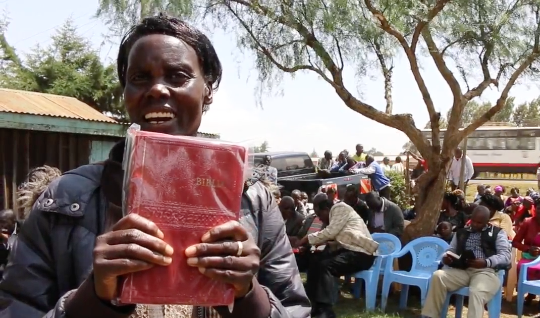 An incredibly impactful bible distribution in Chembulet!
