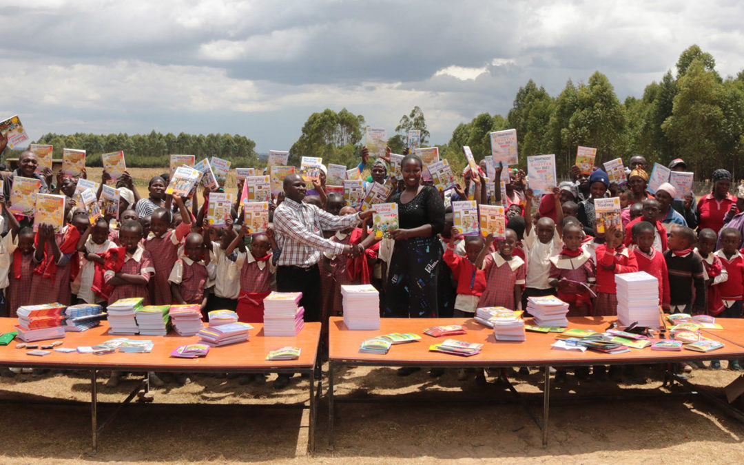 Improvements for education in Kahuria!