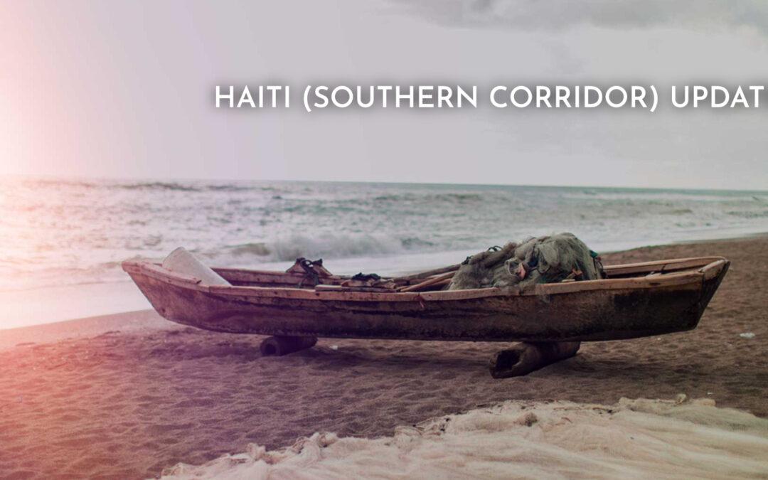 Haiti (Southern Coastal Corridor) Update Zoom Call