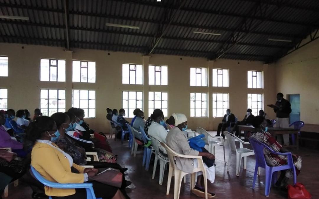 Business Start-up Training helps young girl turn life around in Tumutumu!